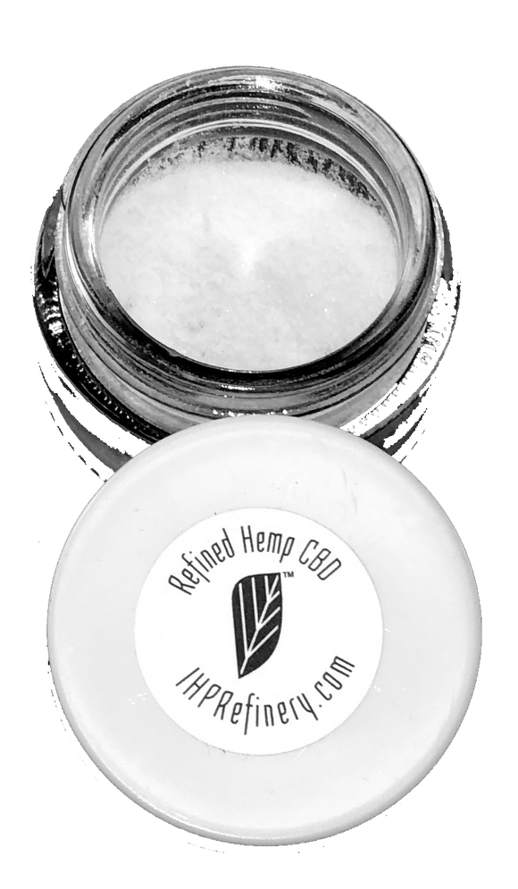 Refined Hemp CBD Isolate - IHP Refinery