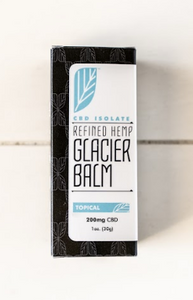 Refined Hemp CBD Isolate Glacier Balm - IHP Refinery