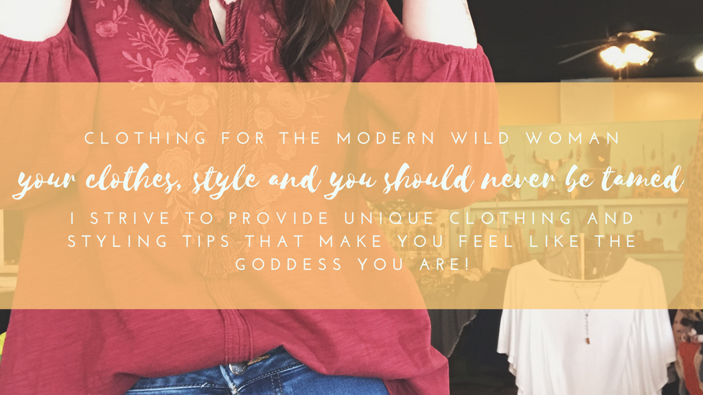 clothing for the modern wild woman