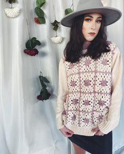 The Lorelei Granny Square Sweater