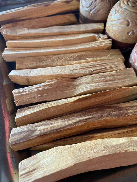 Palo Santo Set of Two Smudge Sticks