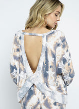 Load image into Gallery viewer, Marley Tie Dye Star Printed Top
