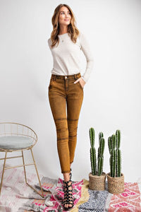 Mineral Washed Jeggings