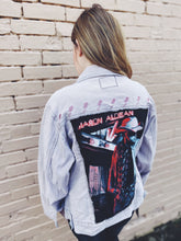 Load image into Gallery viewer, Concert tee blush denim jacket