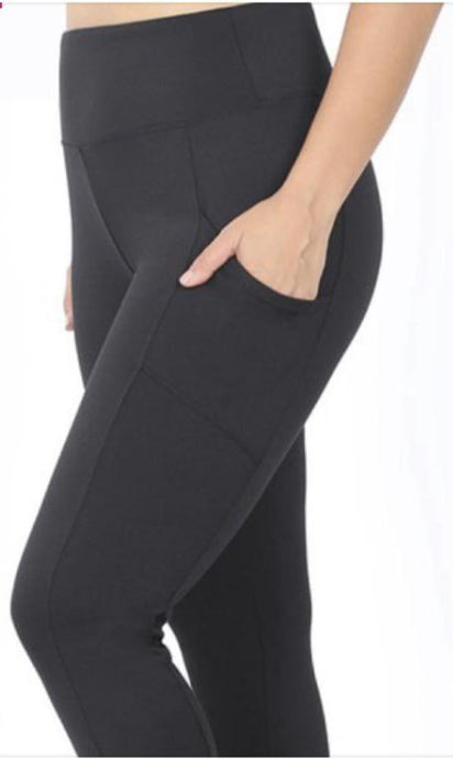 Lyra Plus Size Pocket Leggings