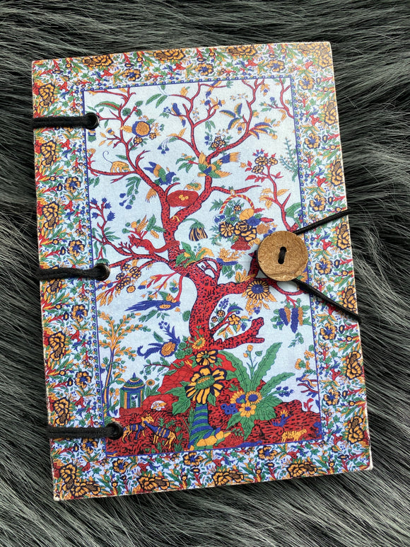 Handmade Tree of Life Hippie Journal