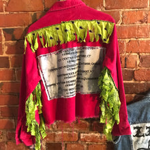 Load image into Gallery viewer, Rocker concert bandana fringe jacket