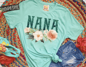 Nana Rose Printed Graphic Tee
