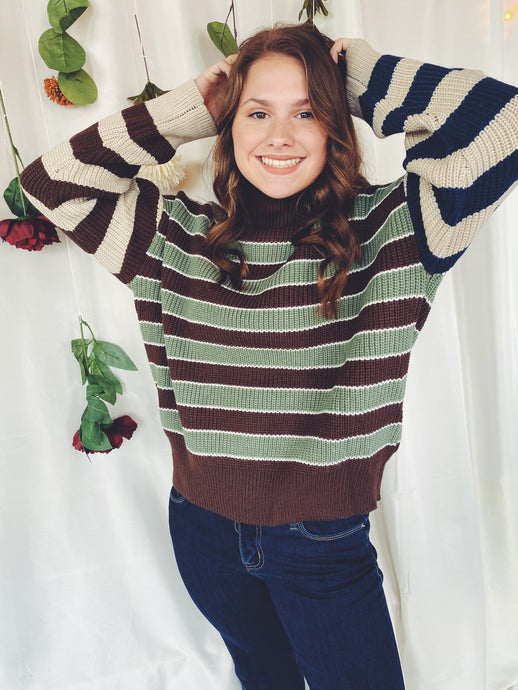 The Clover Striped Sweater