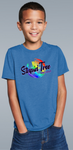 ST-0130 Youth Full Color Logo T-Shirt