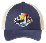 ST-0121 Glitter Stupid Tree Logo Hat