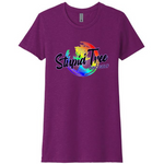 ST-0128 Ladies Full Color Logo T-Shirt