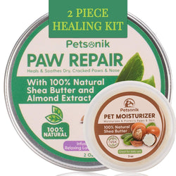 Dog Paw balm Kit for Cracked Paws