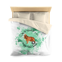 Load image into Gallery viewer, English Cocker Spaniel Pet Fashionista Duvet Cover