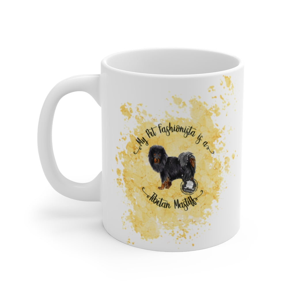 Tibetan Mastiff Pet Fashionista Mug