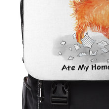 Load image into Gallery viewer, My Pomeranian Ate My Homework Backpack
