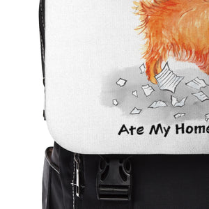 My Pomeranian Ate My Homework Backpack