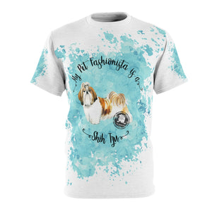 Shih Tzu Pet Fashionista All Over Print Shirt
