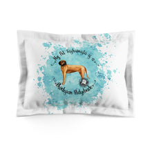 Load image into Gallery viewer, Rhodesian Ridgeback Pet Fashionista Pillow Sham