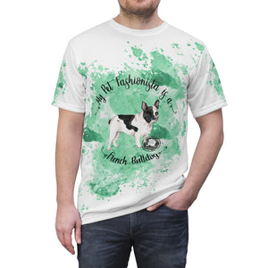 French Bulldog Pet Fashionista All Over Print Shirt