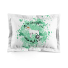 Load image into Gallery viewer, Parson Russell Terrier Pet Fashionista Pillow Sham