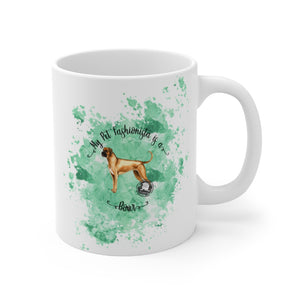 Boxer Pet Fashionista Mug