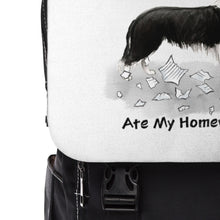 Load image into Gallery viewer, My Border Collie Ate My Homework Backpack