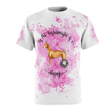 Load image into Gallery viewer, Basenji Pet Fashionista All Over Print Shirt