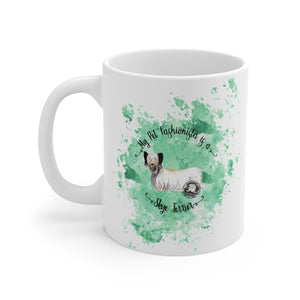 Skye Terrier Pet Fashionista Mug
