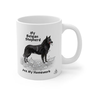 My Belgian Sheepdog Ate My Homework Mug