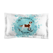 Load image into Gallery viewer, Irish Red and White Setter Pet Fashionista Pillow Sham