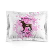 Load image into Gallery viewer, Boykin Spaniel Pet Fashionista Pillow Sham