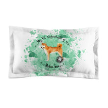 Load image into Gallery viewer, Shiba Inu Pet Fashionista Pillow Sham