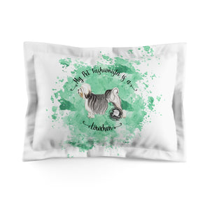 Lowchen Pet Fashionista Pillow Sham