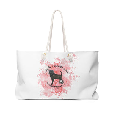 Affenpinscher Pet Fashionista Weekender Bag