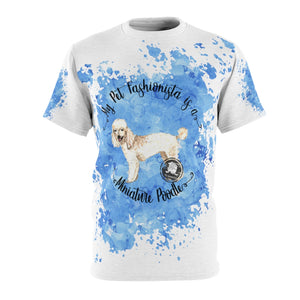 Miniature Poodle Pet Fashionista All Over Print Shirt
