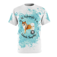 Load image into Gallery viewer, Icelandic Sheep Dog Pet Fashionista All Over Print Shirt