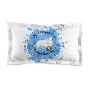 American Eskimo Dog Pet Fashionista Pillow Sham