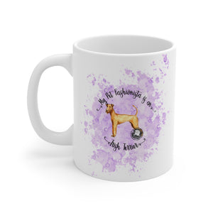 Irish Terrier Pet Fashionista Mug