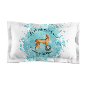 Cirneco Dell'Etna Pet Fashionista Pillow Sham