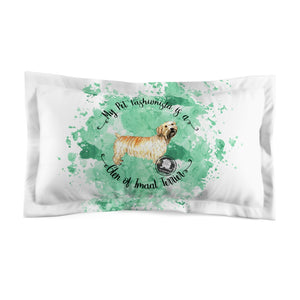 Glen of Imaal Terrier Pet Fashionista Pillow Sham