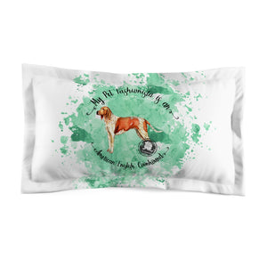 American English Coonhound Pet Fashionista Pillow Sham
