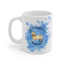 Load image into Gallery viewer, Norwich Terrier Pet Fashionista Mug