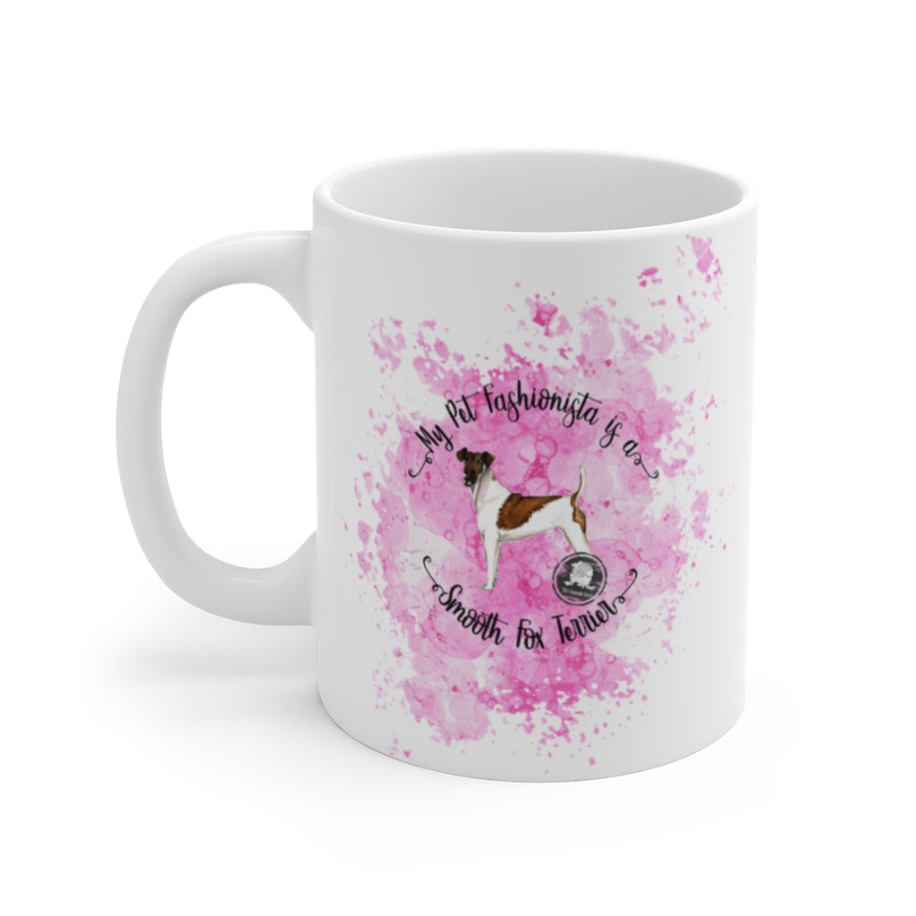 Smooth Fox Terrier Pet Fashionista Mug