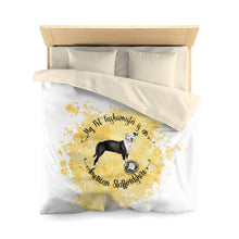 Load image into Gallery viewer, American Staffordshire Pet Fashionista Duvet Cover