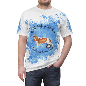 Cavalier King Charles Spaniel Pet Fashionista All Over Print Shirt