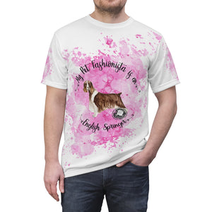 English Springer Spaniel Pet Fashionista All Over Print Shirt