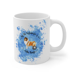 Collie (Rough) Pet Fashionista Mug