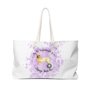 Chinese Shar-Pei Pet Fashionista Weekender Bag