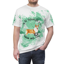 Load image into Gallery viewer, Pembroke Welsh Corgi Pet Fashionista All Over Print Shirt